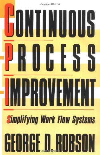 9780029266458: Continuous Process Improvement