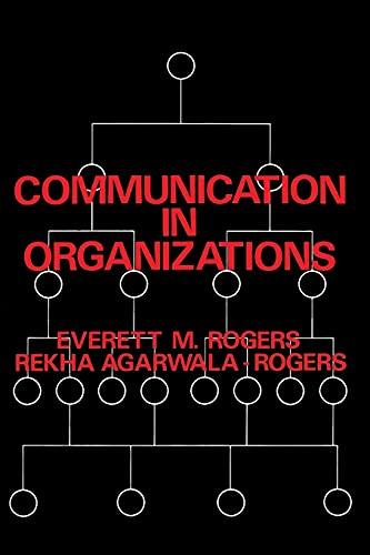 9780029267103: Communication in Organizations