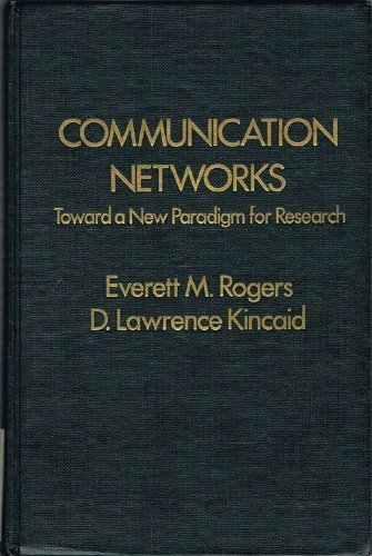 9780029267400: Communication Networks: Toward a New Paradigm for Research