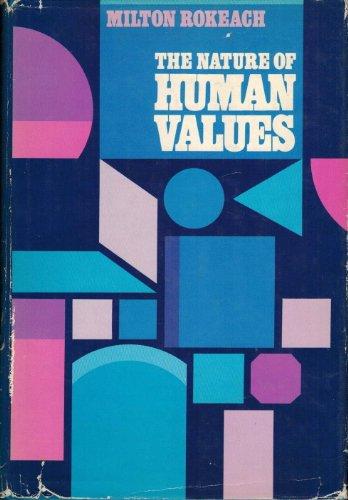 The Nature of Human Values: Rokeach, Milton