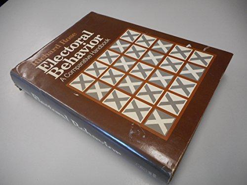9780029268100: Electoral Behavior: A Comparative Handbook.