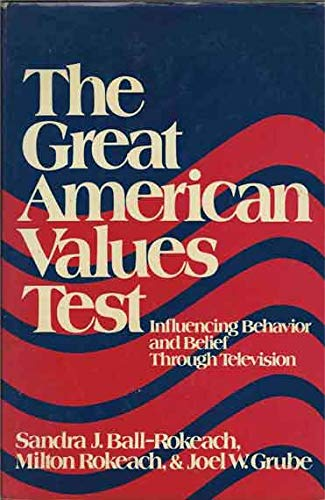 9780029268506: Great American Values Test: Influencing Behavior & Belief Through Television
