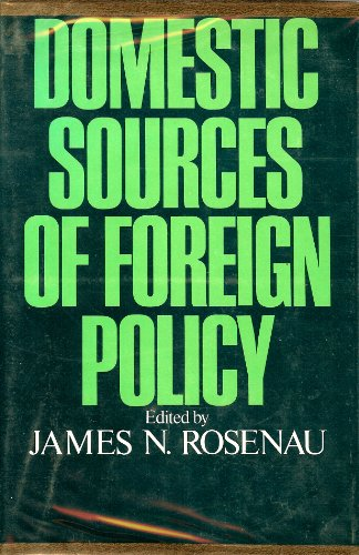9780029270004: Domestic Sources of American Foreign Policy