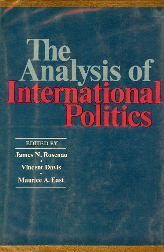9780029270301: Analysis of International Politics