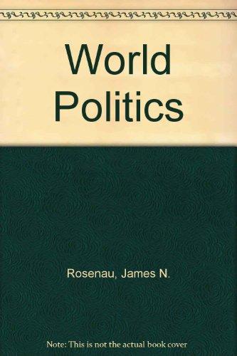 9780029270400: World Politics: An Introduction