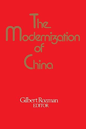 9780029273609: The Modernization of China
