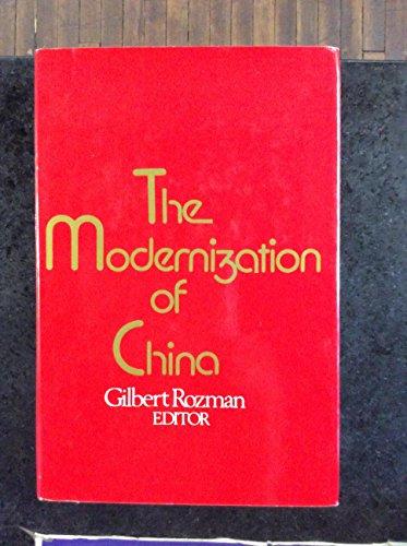 9780029274804: The MODERNIZATION OF CHINA
