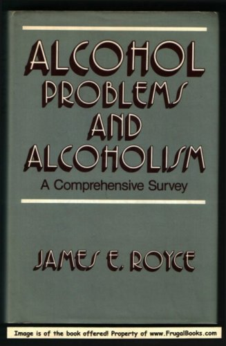 9780029275405: Alcohol Problems and Alcoholism