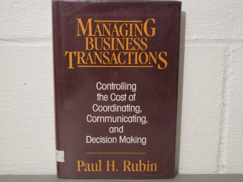 9780029275955: Managing Buisness Transactions
