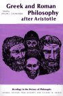 9780029277300: GREEK AND ROMAN PHILOSOPHY AFTER ARISTOTLE