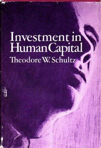 9780029282205: Investment in Human Capital: The Role of Education and of Research