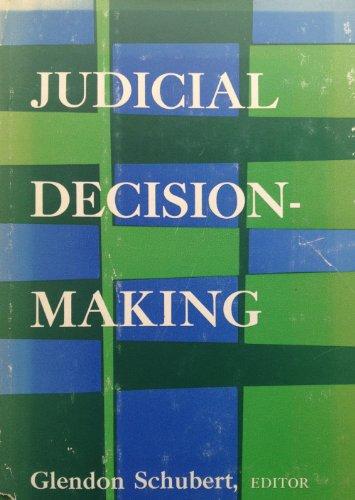 9780029282304: Judicial Decision-Making