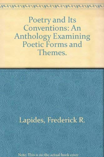 9780029285305: Poetry and Its Conventions: An Anthology Examining Poetic Forms and Themes.