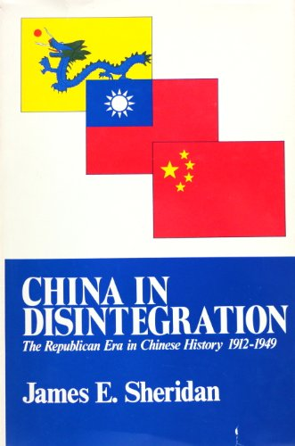 9780029286104: China in Disintegration, 1912-49 (The transformation of modern China series)