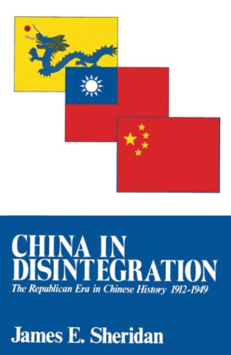 9780029286500: China in Disintegration: The Republican Era in Chinese History, 1912-1949 (The transformation of modern China series)