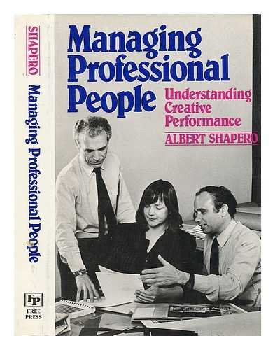 9780029288702: Managing Professional People: Understanding Creative Preformance