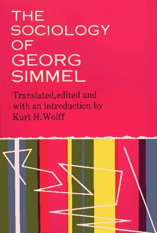 9780029289204: The Sociology of Georg Simmel