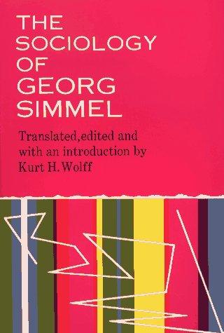 9780029289204: The Sociology of Georg Simmel