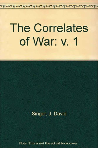 9780029289600: The Correlates of War (v. 1)