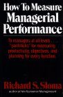 9780029292402: How to Measure Managerial Performance