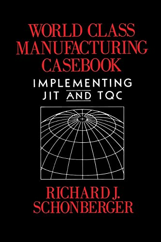 9780029293508: World Class Manufacturing Casebook:  Implementing JIT and TQC