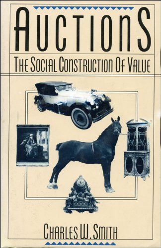 9780029295304: Auctions: The Social Construction of Value