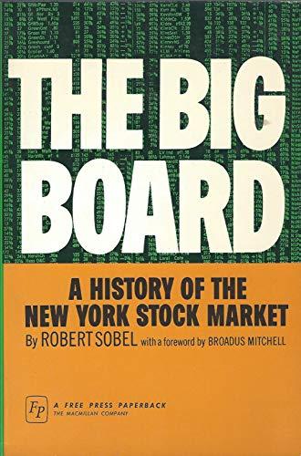 9780029298008: The Big Board