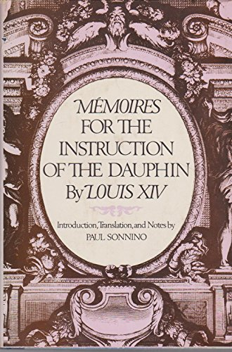 9780029301302: Memoires for the Instruction of the Dauphin