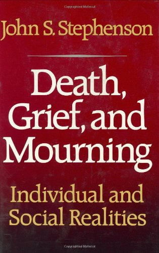 9780029313305: Death, Grief, and Mourning