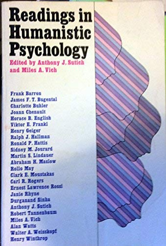 9780029323205: Readings in Humanistic Psychology