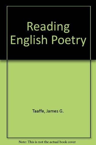 9780029324608: Reading English Poetry