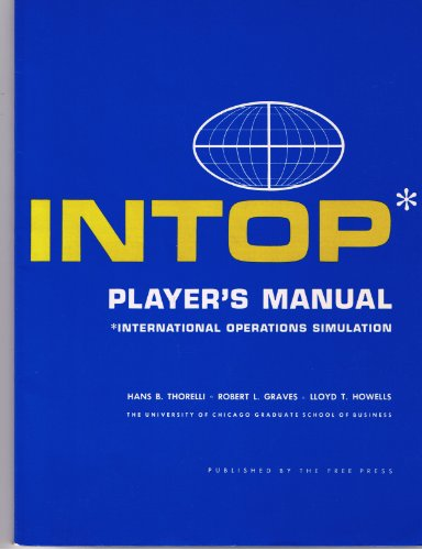 9780029325308: Players Manual for International Operations Simulation