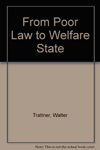9780029328903: From Poor Law to Welfare State 2nd