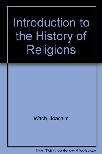 9780029335307: Introduction to the History of Religions