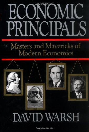 9780029339961: Economic Principals : Masters and Mavericks of Modern Economics