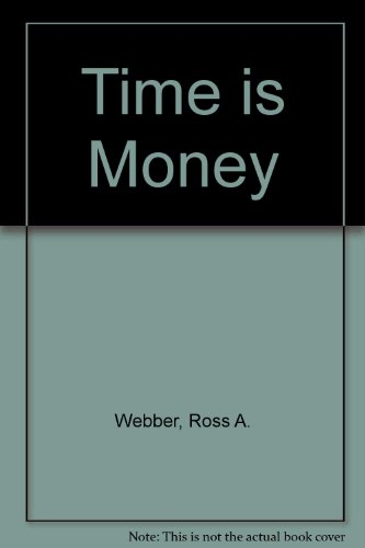 9780029340301: Time is Money