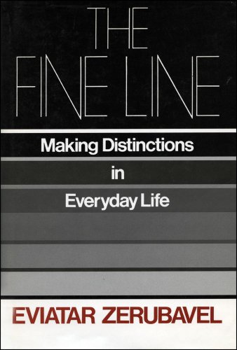 9780029344200: The Fine Line : Making Distinctions in Everyday Life