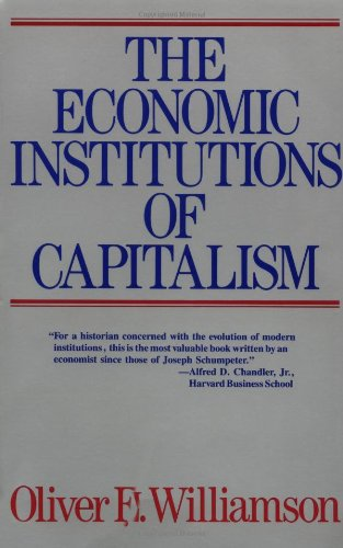 9780029348215: Economic Institutions of Capitalism