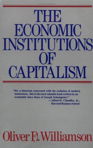 9780029348215: Economic Institutions of Capitalism