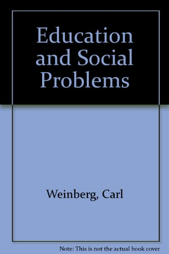 9780029349106: Education and Social Problems