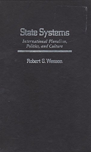 9780029349403: State Systems: International Pluralism, Politics and Culture