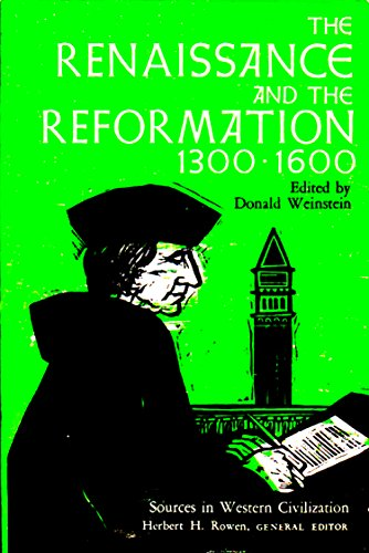9780029349601: Renaissance and the Reformation, 1300-1600