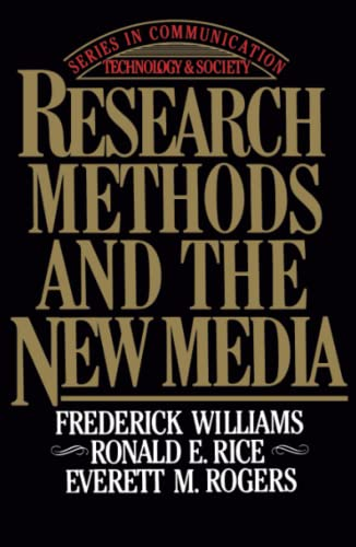9780029353318: Research Methods and the New Media (Series in Communication Technology and Society)