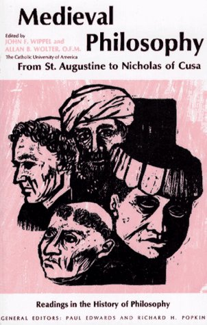 9780029356500: Mediaeval Philosophy: From St.Augustine to Nicholas of Cusa (Readings in the history of philosophy)