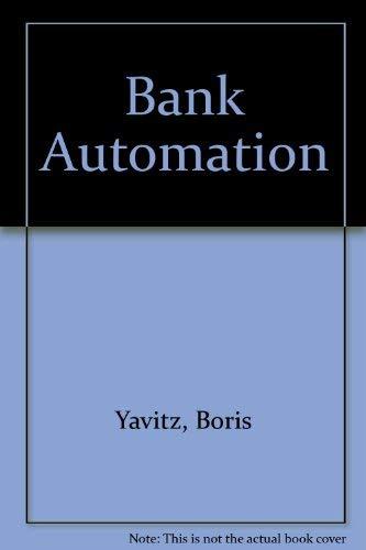 9780029356906: Bank Automation