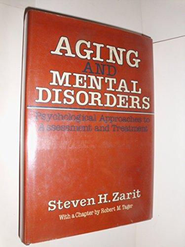 9780029358504: Aging & Mental Disorders