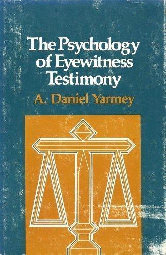 9780029358603: The Psychology of Eyewitness Testimony