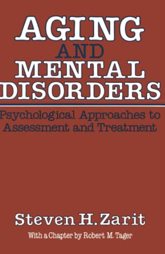 9780029359808: Aging & Mental Disorders (Psychological Approaches To Assessment & Treatment): Psychological Approaches to Assessment and Treatment