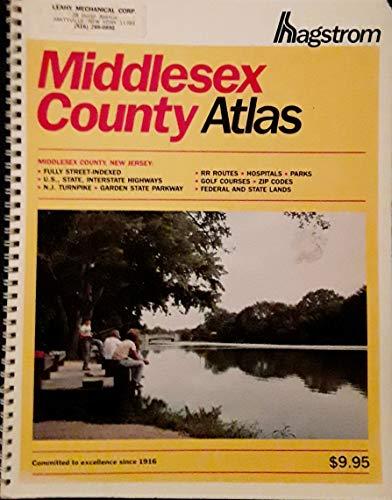 9780029360804: Middlesex County Atlas: Hagstrom