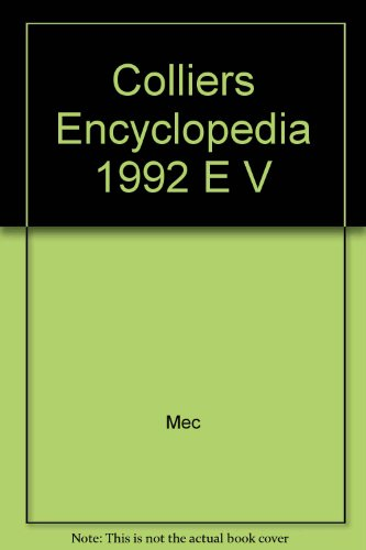 9780029425435: Colliers Encyclopedia 1992 E V